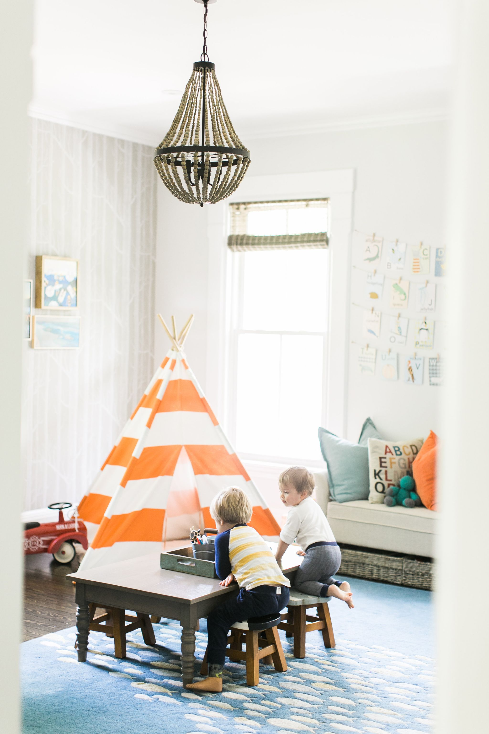 in the playroom with finding lovely playroom inspiration rh pinterest com