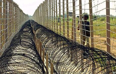 Unturned Barbed Wire Fence Id | Loc Or Line Of Control Is The Army Made Division Between India And