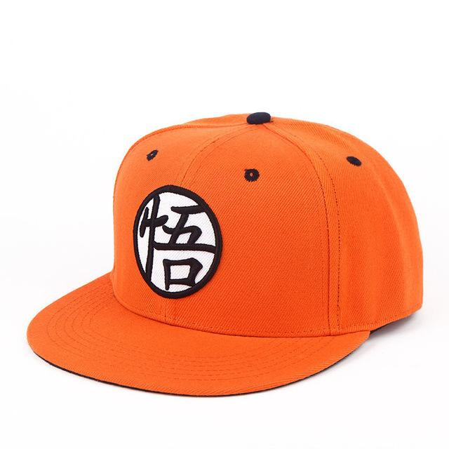 cae6926a3e5c4 Dragon Ball Z Goku Gi Kanji Hat