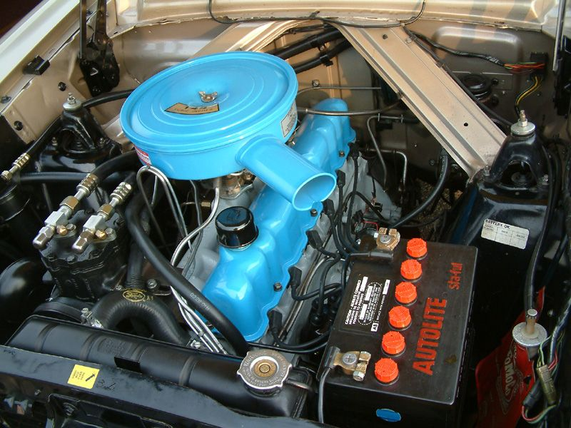 Ford Six Cylinder Engine 144 Cid Straight 6 In A 1964 Ford