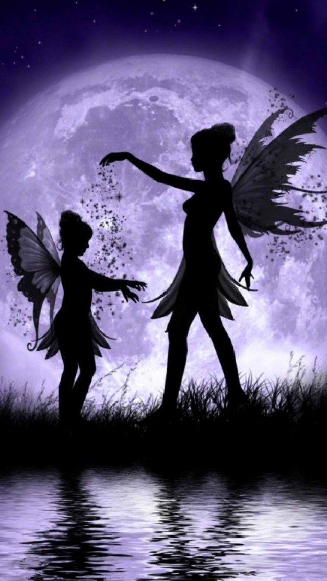 Pin by Mahill on tekenen | Fairy pictures, Fairy silhouette, Moon fairy