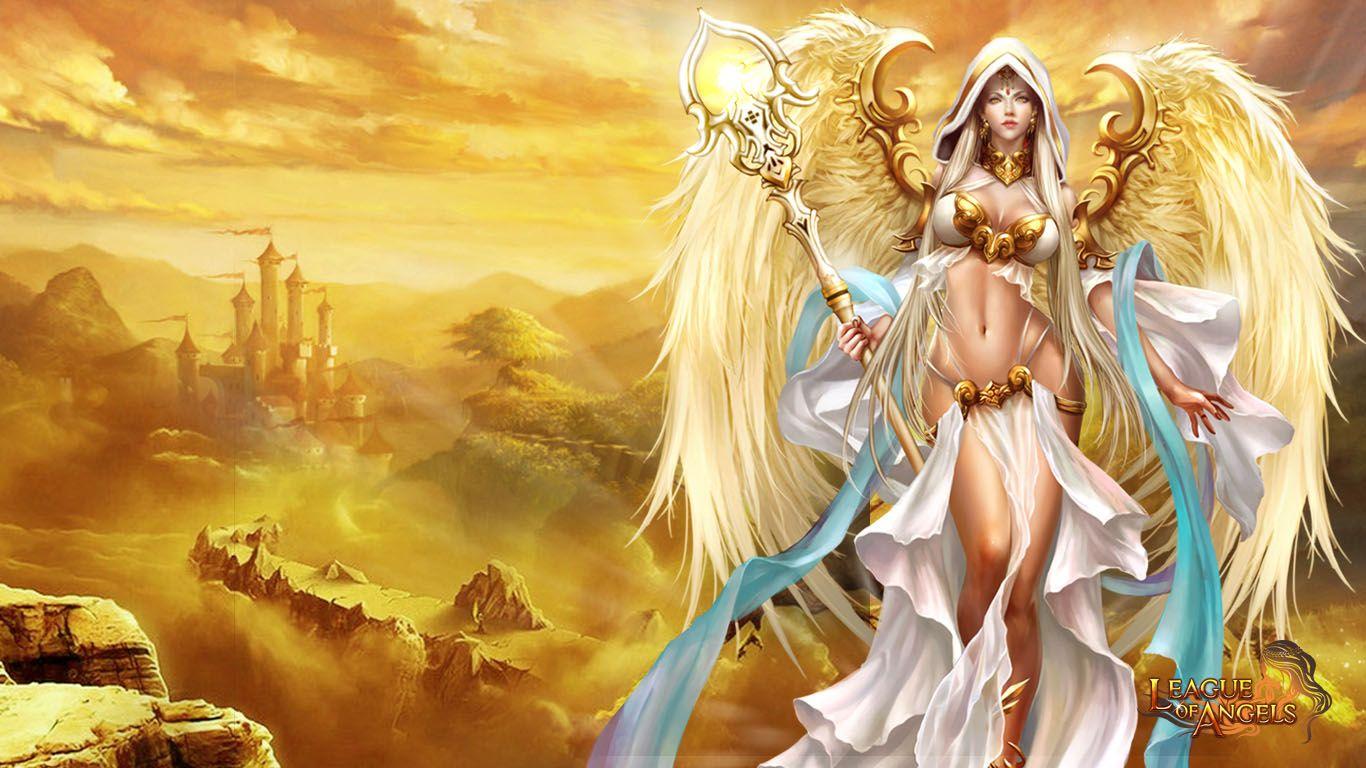League Of Angels League Of Angels Angel Wallpaper Angel