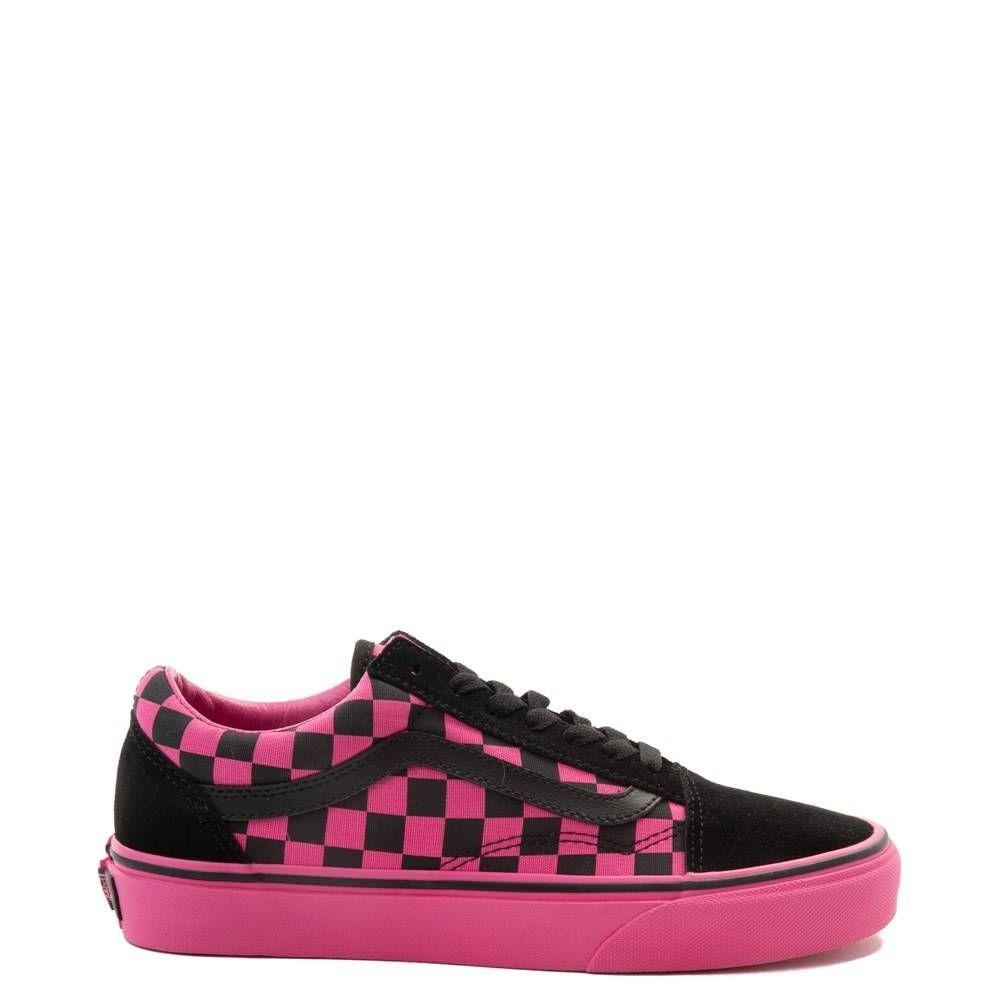 Vans Old Skool Checkerboard Skate Shoe