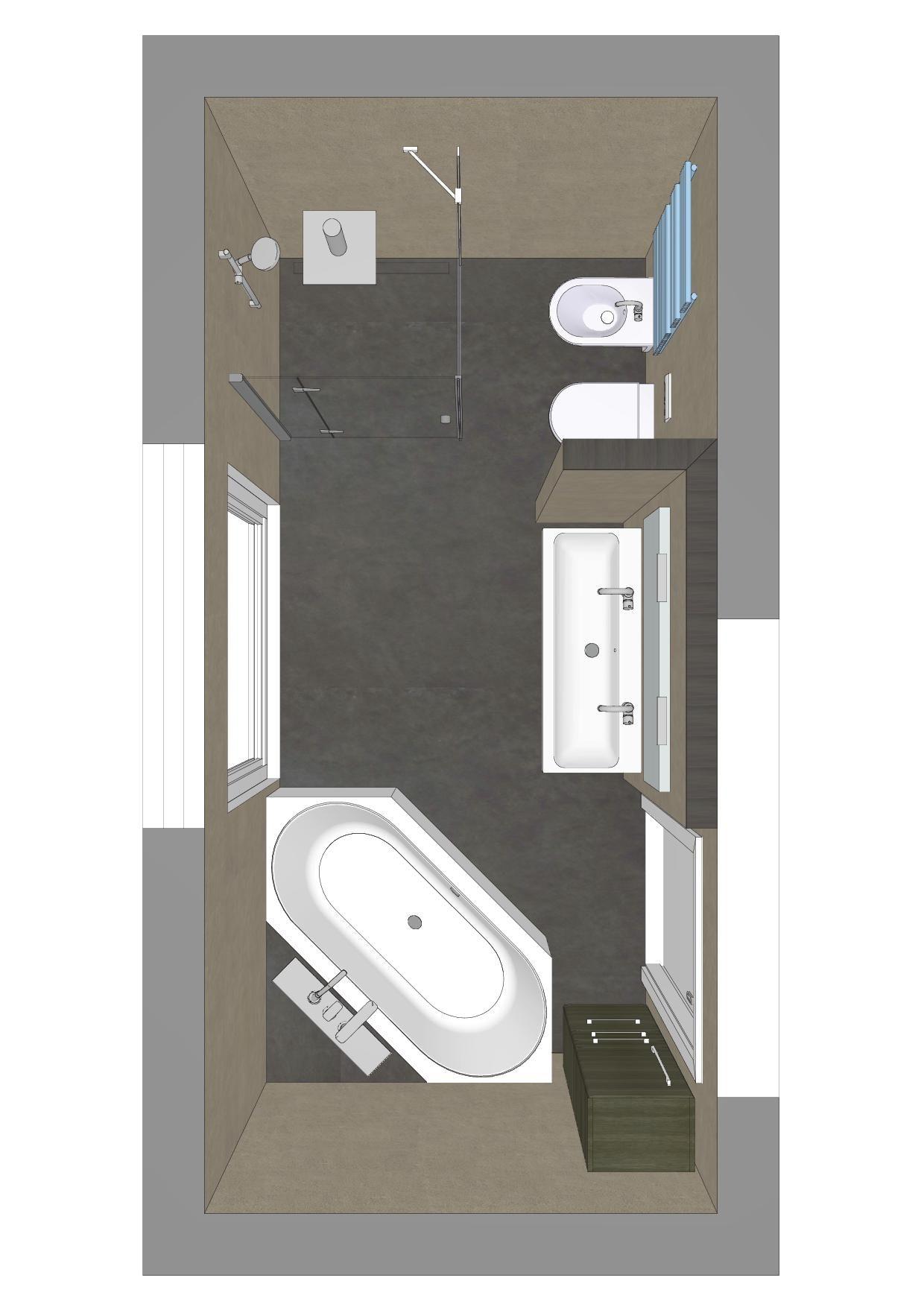 Badezimmer Mit 6eck Badewanne Badezimmer Aufbewahrung Badezimmer Badewanne Eck
