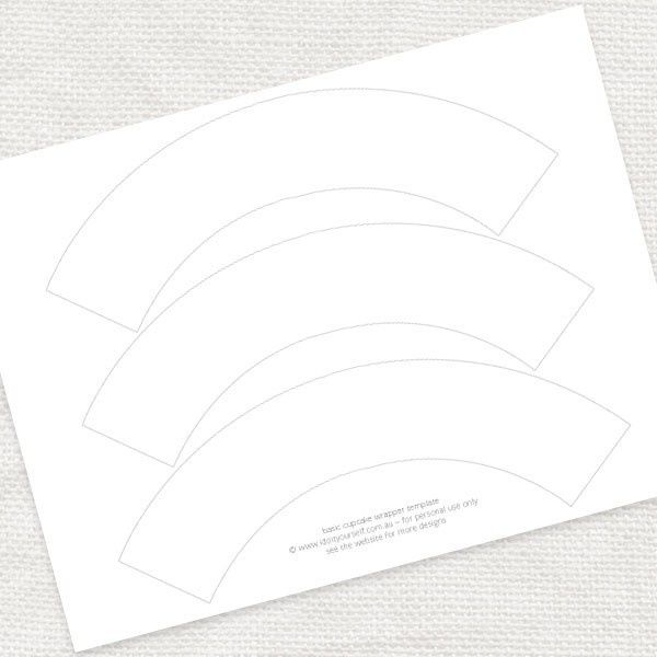 basic cupcake wrapper template - FREE DOWNLOAD - i do it ...