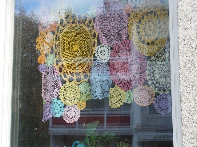 liinat ikkunassa