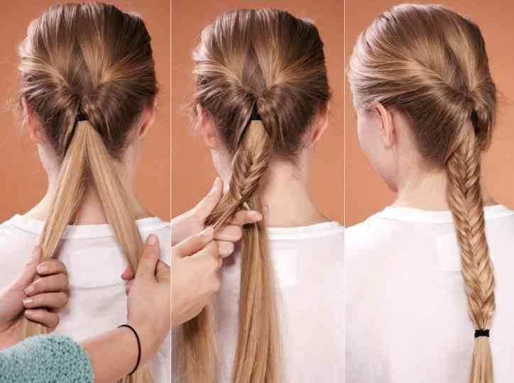 Leichte Frisuren Für Lange Haare Zum Selber Machen Mode Frisuren