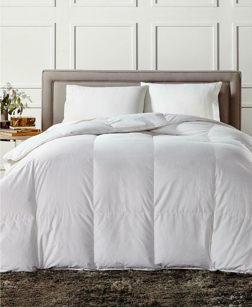 Charter Club European White Down Medium Weight King Comforter 480 Charterclub Contemporary White Down Comforter European Home Decor Weighted Comforter