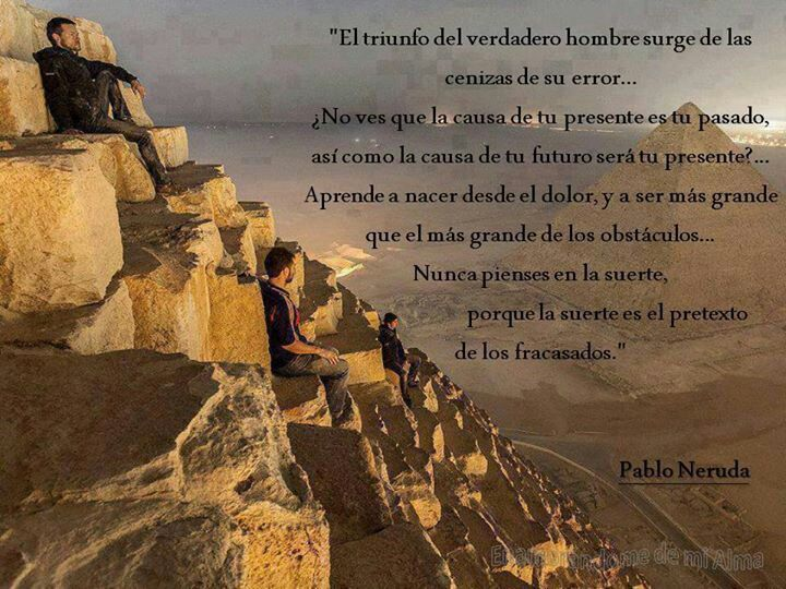 Neruda, la suerte