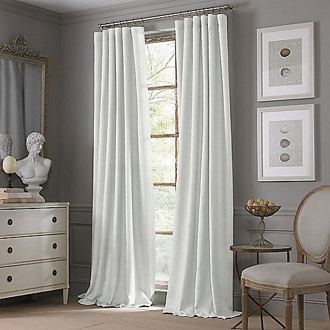 Want these curtains for my bedroom! Valeron Estate Cotton Linen Window Curtain Panel