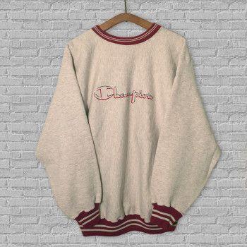 4f7a71b34d0f Vintage Champion Crewneck Sweatshirt | Clothing | Vintage outfits ...