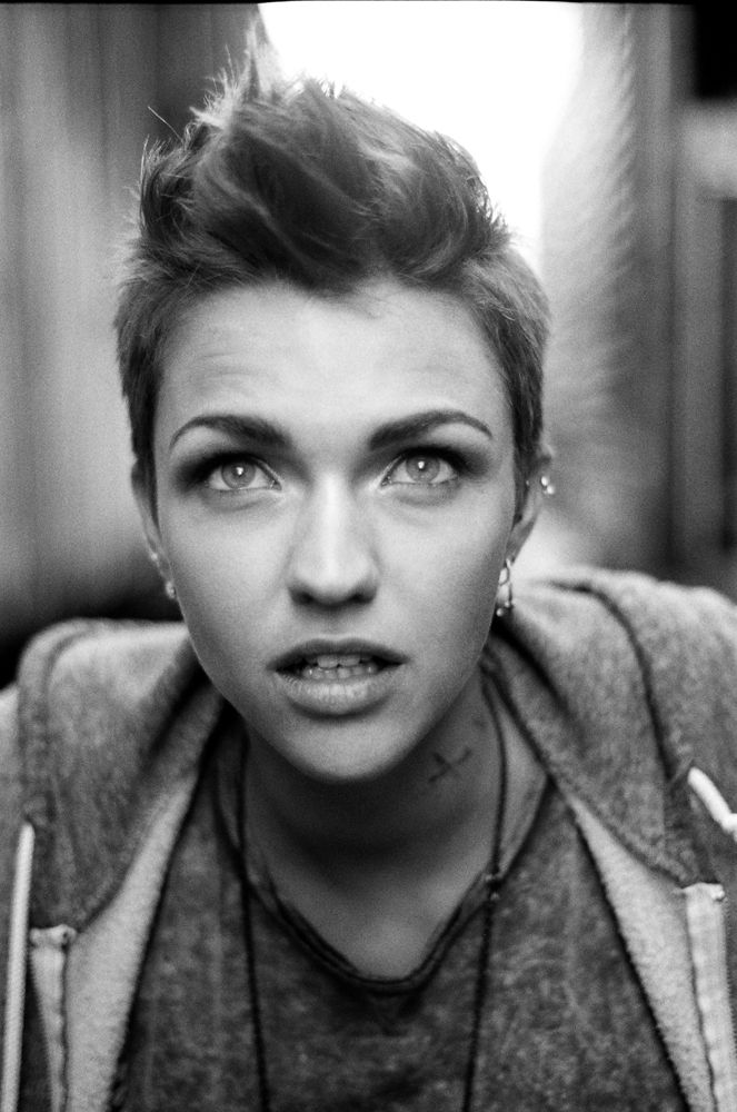 RUBY ROSE X Ruby Rose Rose And Haircuts - Undercut hairstyle ruby rose