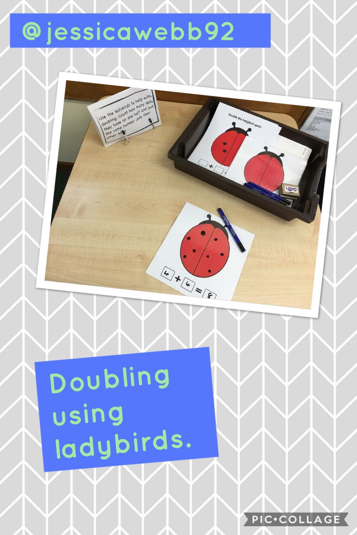 Doubling Using Ladybird Dots