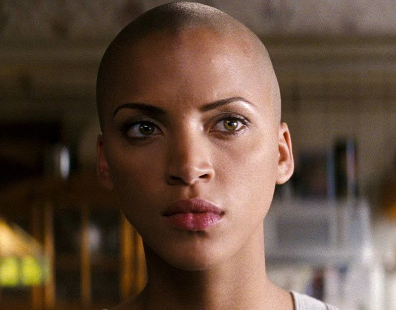 Not Noemie lenoir shaved head