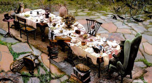Alice in wonder land tea party spread | Lawn Stuff | Pinterest ...