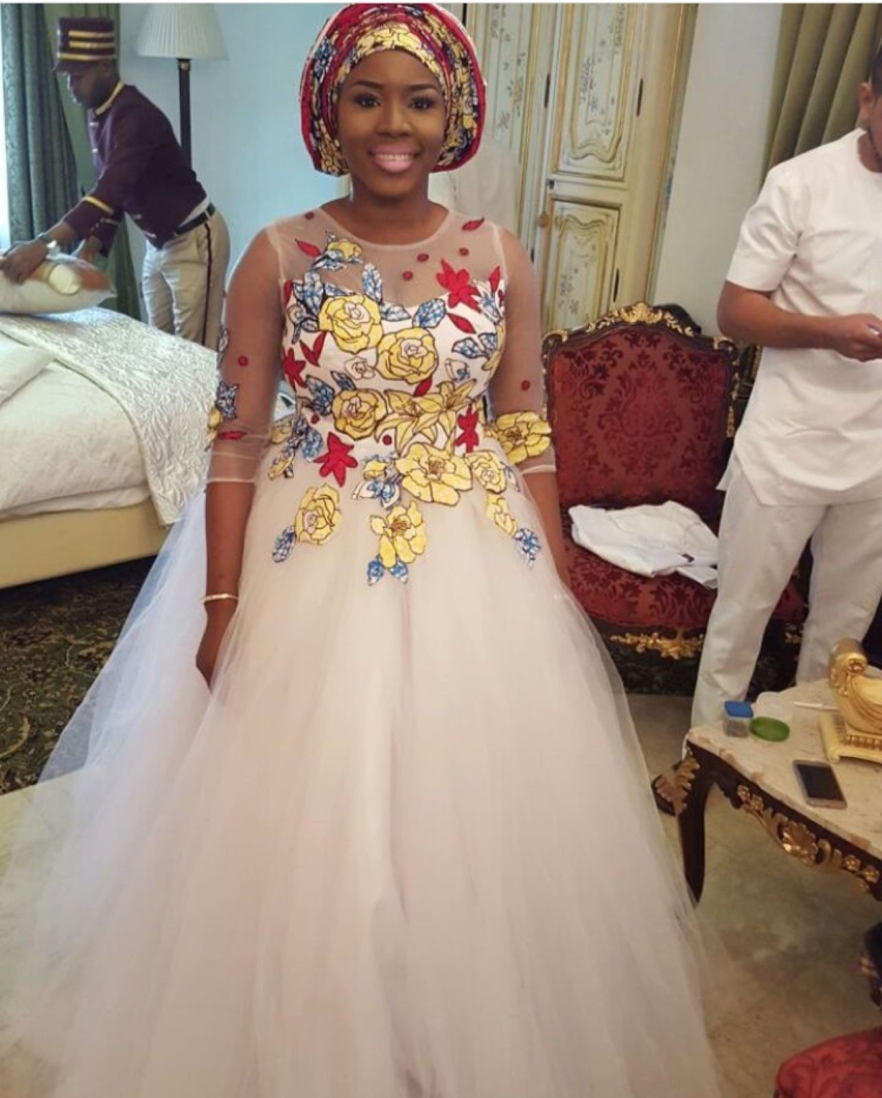 Traditional Nigerian Wedding Gowns: Pin By Ohsococoa On Wedding Dress In 2019
