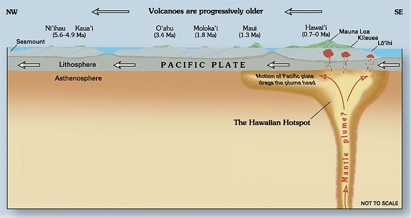Hawaii Hotspot Plate Tectonics Hot Spot Plate Tectonic Theory