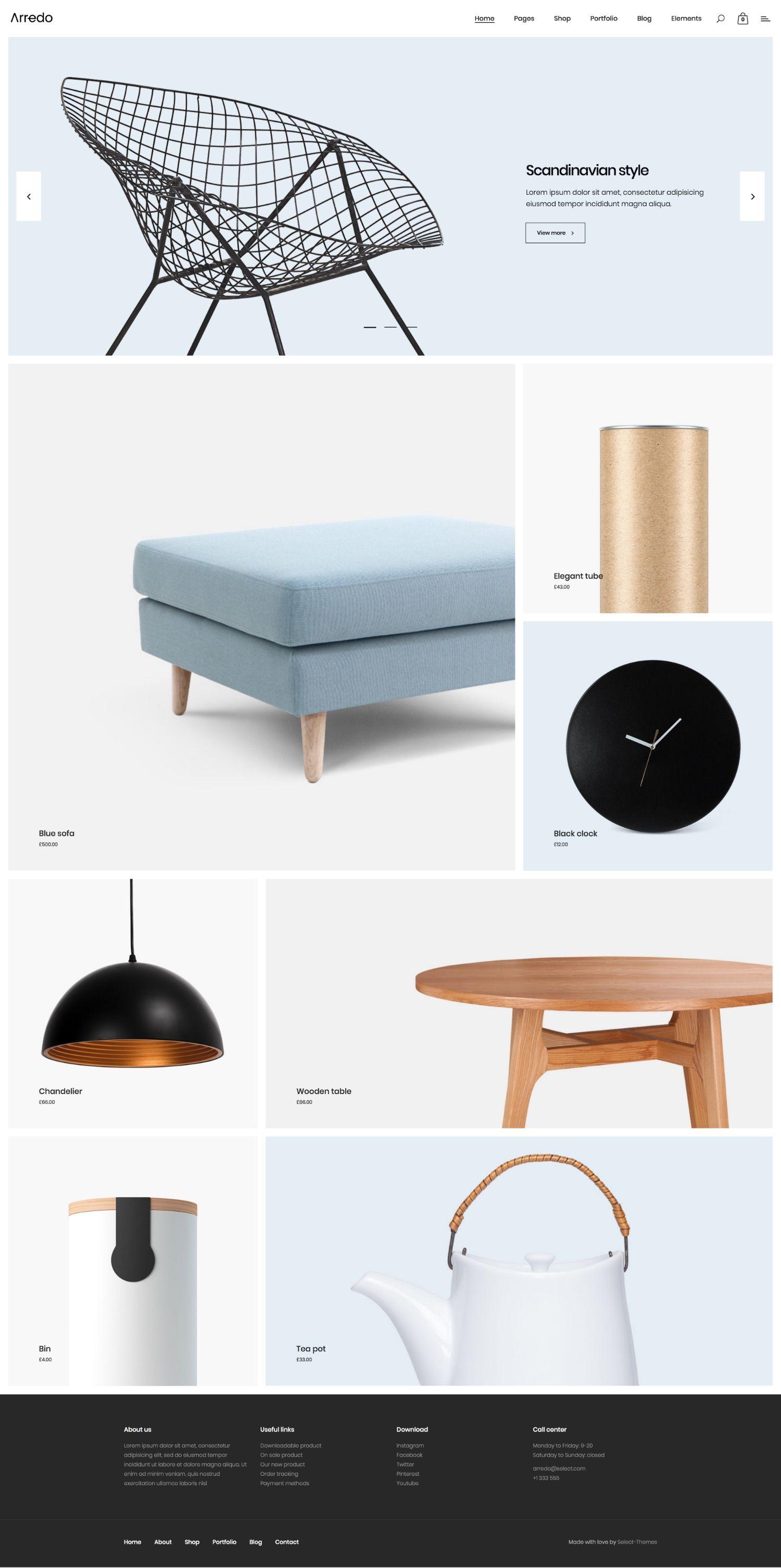 Arredo - Clean Furniture Store   Furniture store design, Furniture
