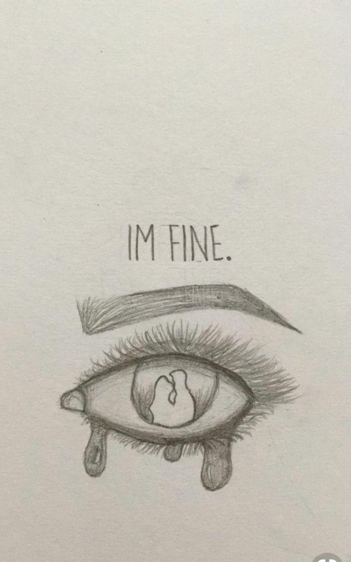 ▷ 1001 + idées de dessin triste et comment exprimer ses émotions à travers l'art