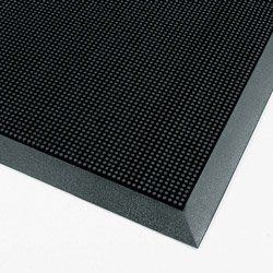 Rubberized Entry Mat 36 X 72 Black 1 Each Price Is Per Each By Shipping Supply 169 77 Molded Beveled E Entrance Mat Rubber Flooring Rubber Floor Mats