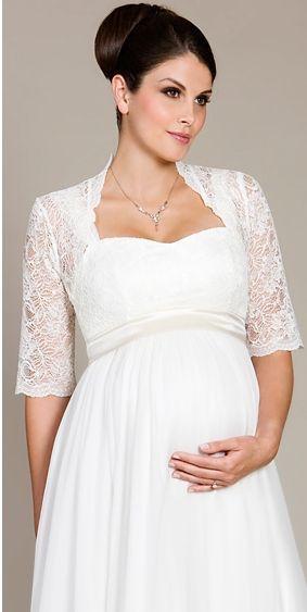 Vestidos de novia para embarazadas ¡19 Outfits Exclusivos ...