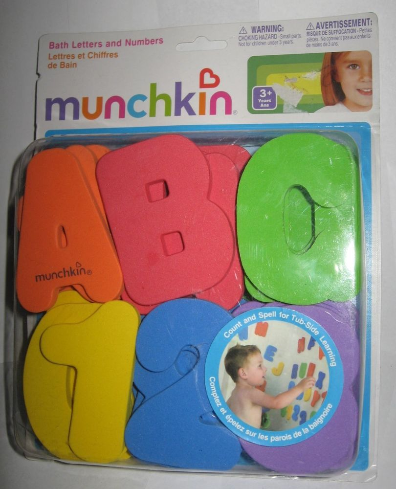 Munchkin Bath Letters /& Numbers