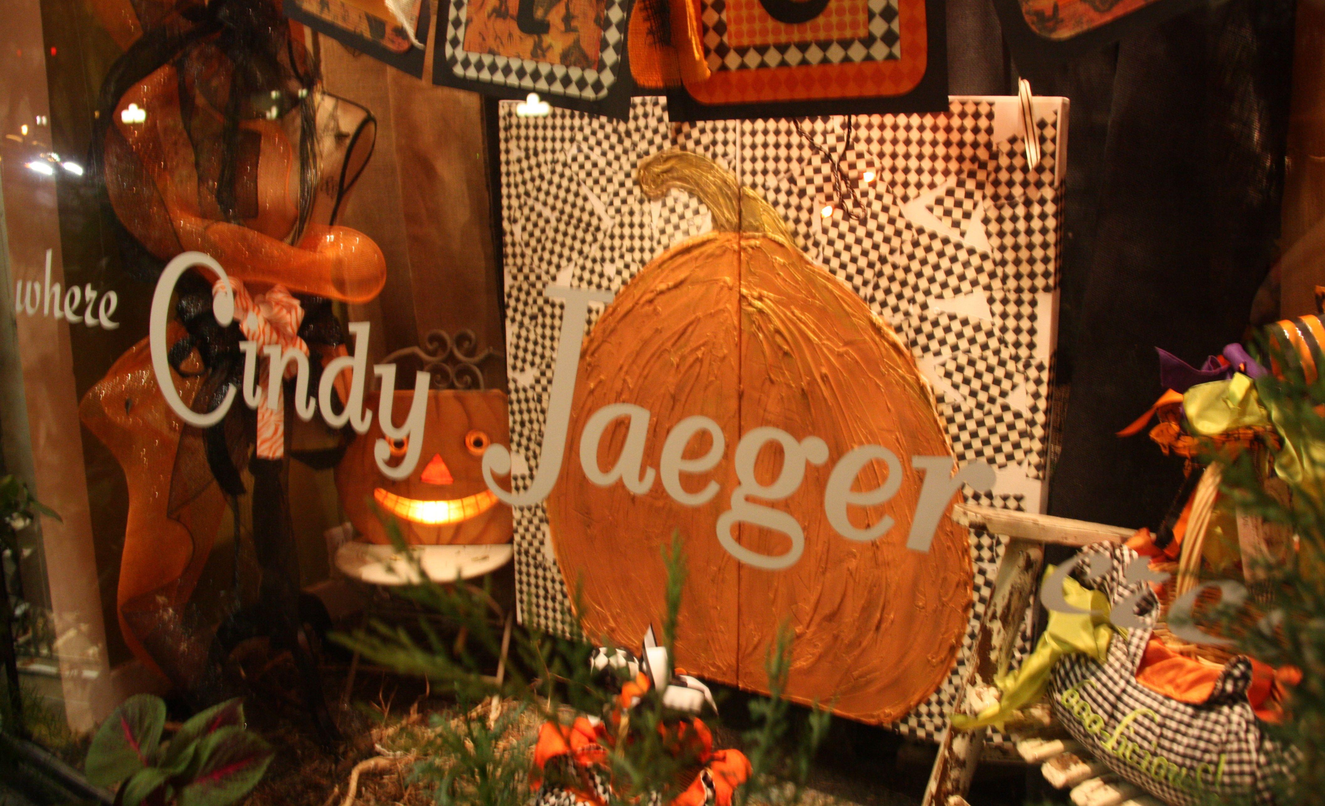 Cindy Jaeger Designs in Tomball, Texas Pumpkin canvas
