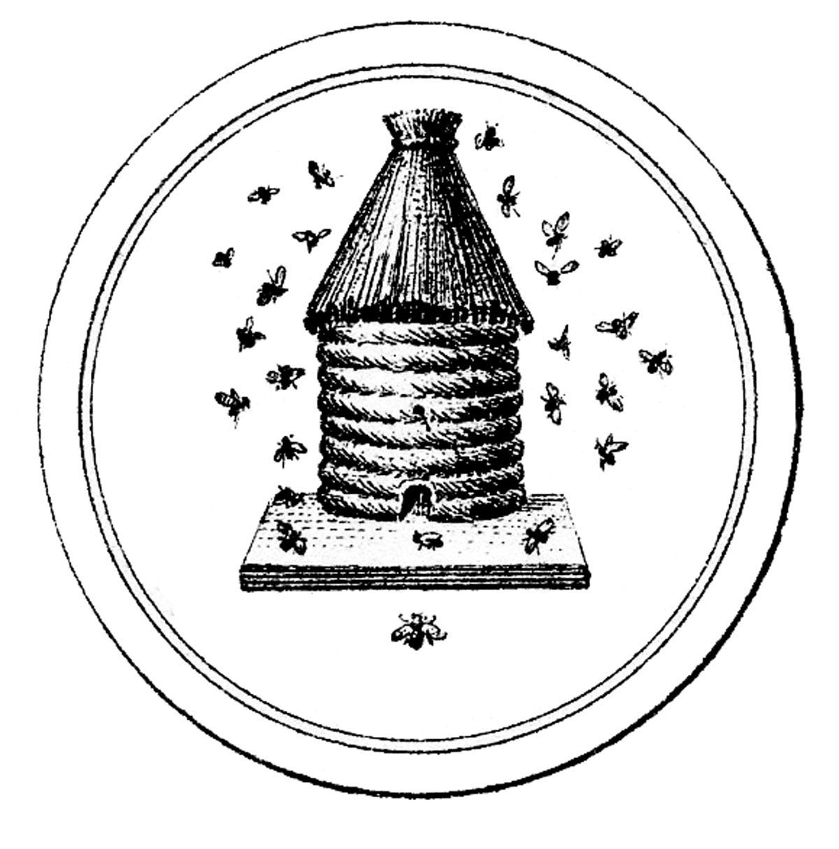 14 Beehive Clipart