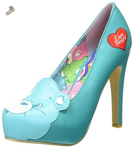 9f02817d37 Iron Fist Women s Wish All Care Bear Platform Dress Pump