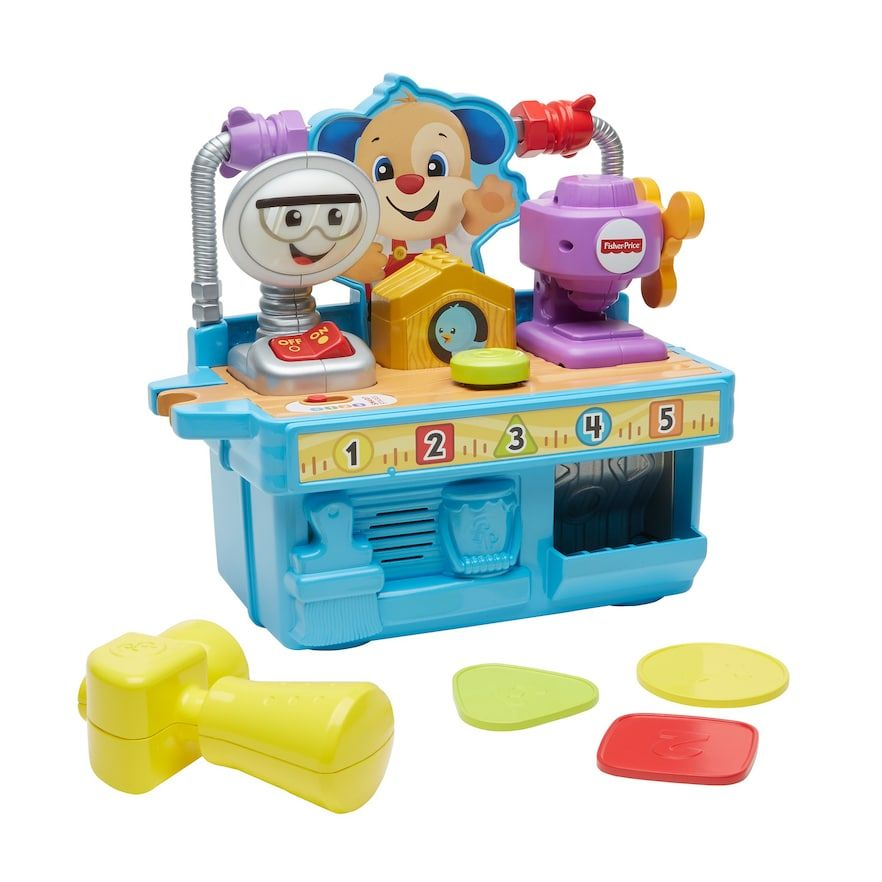 Fisher Price Laugh Learn Busy Learning Tool Bench Learning Tools Fisher Price Tool Bench