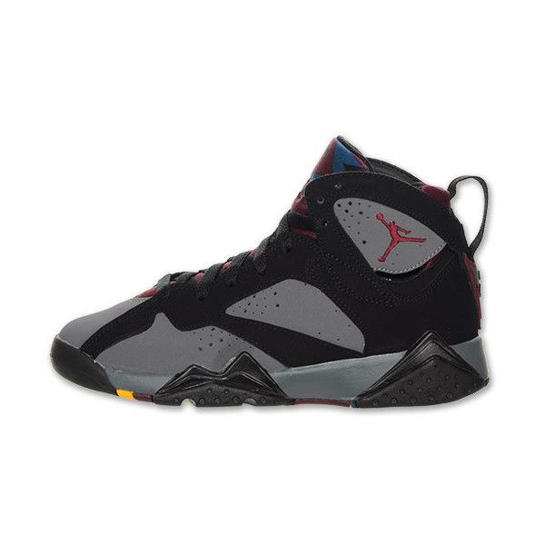 2d0ad43987cf Air Jordan Retro 7 Kids  Basketball Shoes ❤ liked on Polyvore featuring  shoes