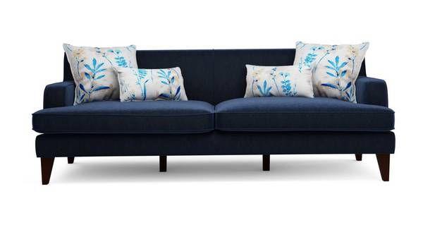 Penelope Plain 4 Seater Sofa Dfs Sofa Shop Sofa Seater Sofa