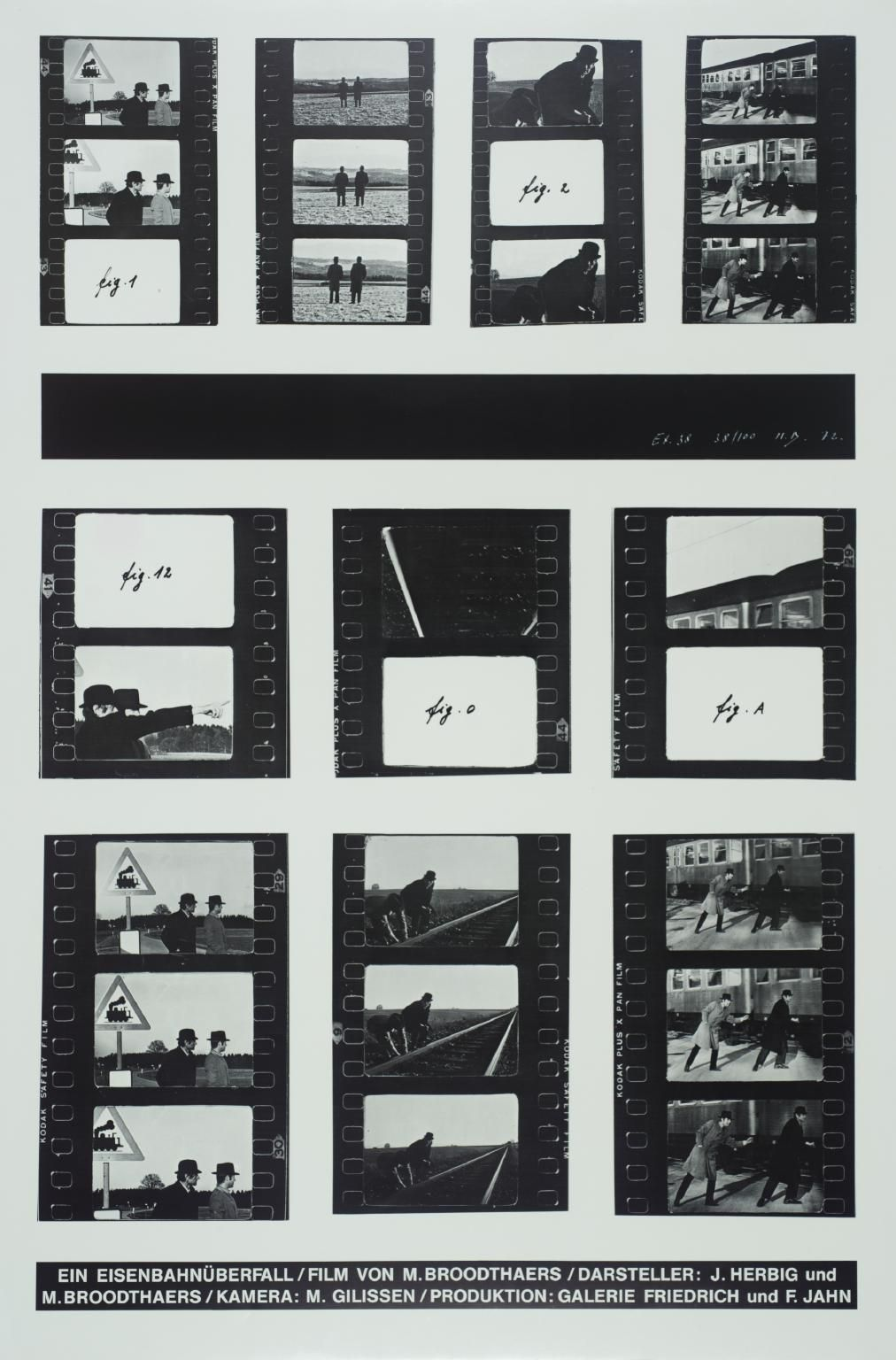 marcel broodthaers a railway robbery copy dacs marcel artwork page for a railway robbery marcel broodthaers 1972