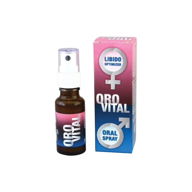 Potente afrodisíaco em spray de aplicação oral. Graças à sua fórmula baseada em extractos de plantas garante o fulgor sexual de um jovem de 20 anos, apenas com uma pulverização oral diária.