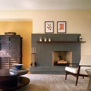 Image Result For Offset Fireplace Off