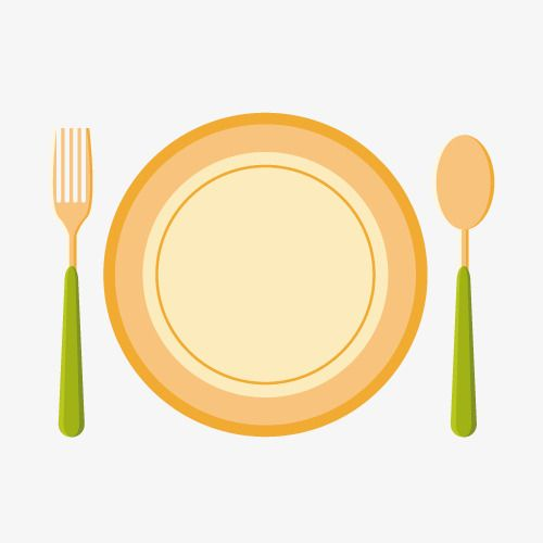 Vector Cartoon Plate Cutlery Fork Spoon Vector Cartoon Plate Tableware Png Transparent Clipart Image And Psd File For Free Download Plates Food Logo Design Cooking Channel