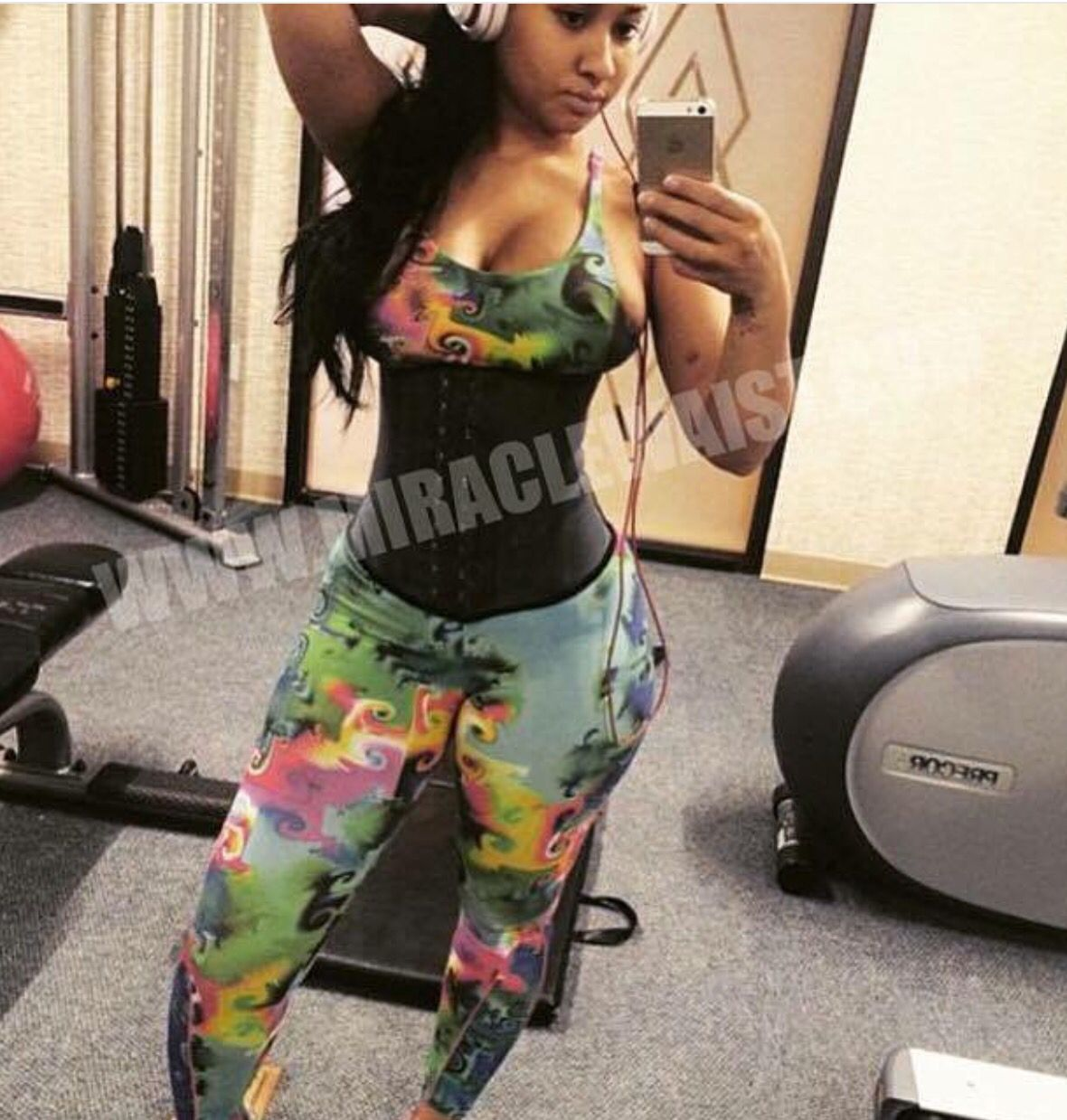 14e900612b Check out Tammy Rivera of Love and Hip ATL in her Licorice Miracle Waist  Trainer!! Visit www.miraclewaist.com or call 912-264-9242