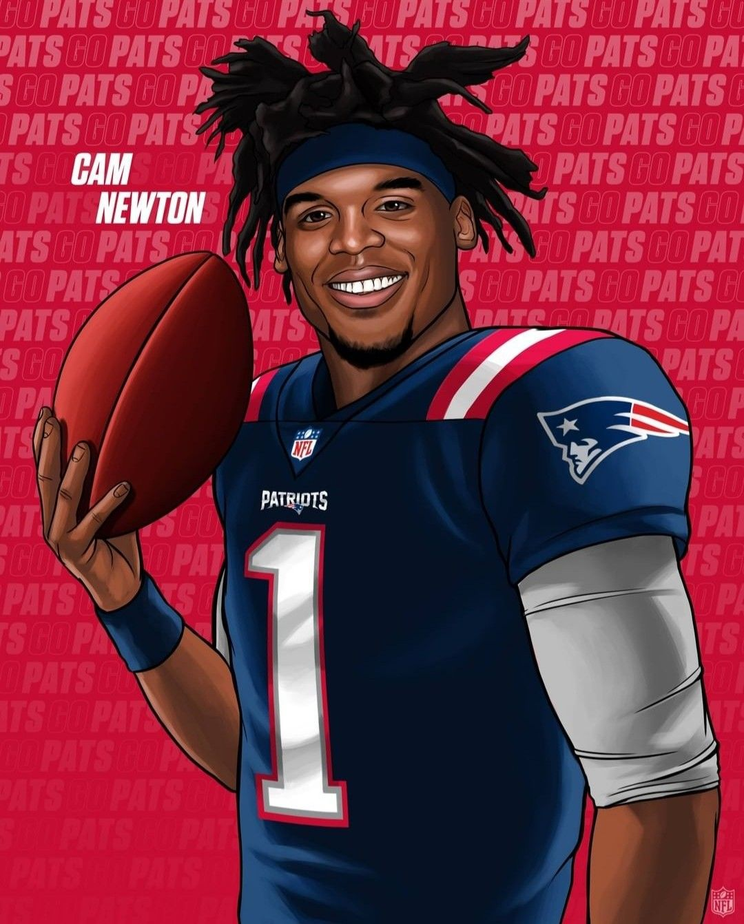 Cam Newton To New England Patriots In 2020 New England Patriots Football Patriots Football Nfl Football Pictures