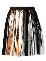 Image result for proenza schouler foil print pleated dress
