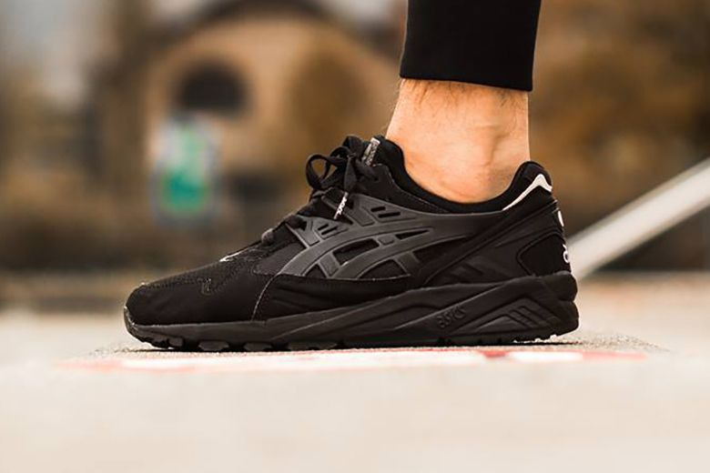 all black asics