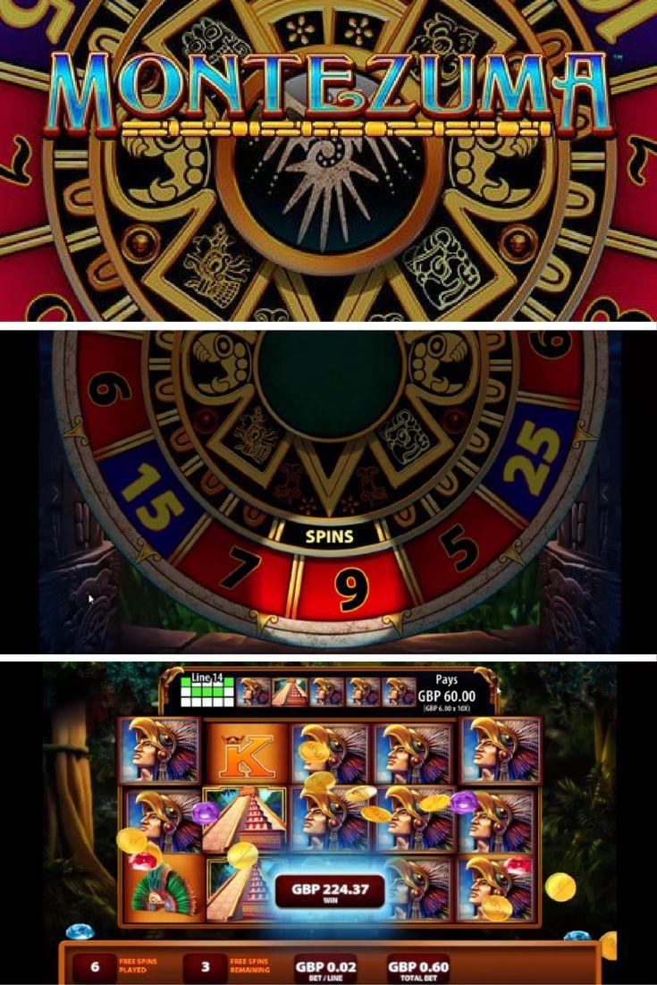 Play Montezuma Online Slot Slots Games