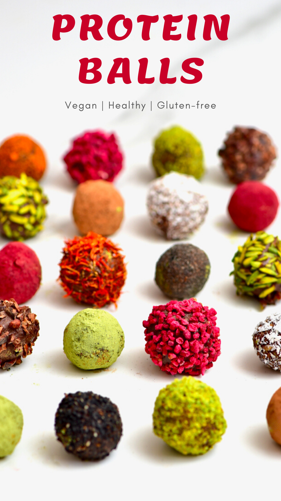 Healthy Cacao & Almond Protein Balls