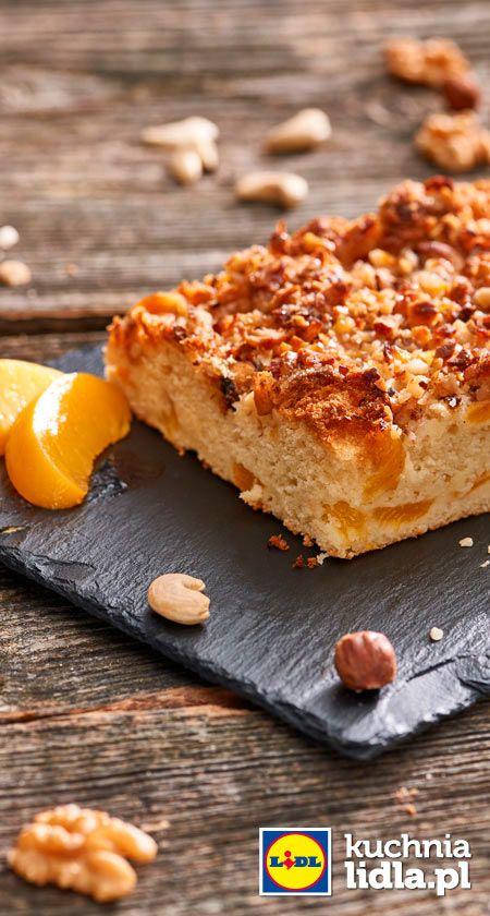 Placek Brzoskwiniowy Z Orzechami Przepis Recipe Desserts Banana Bread Sweet