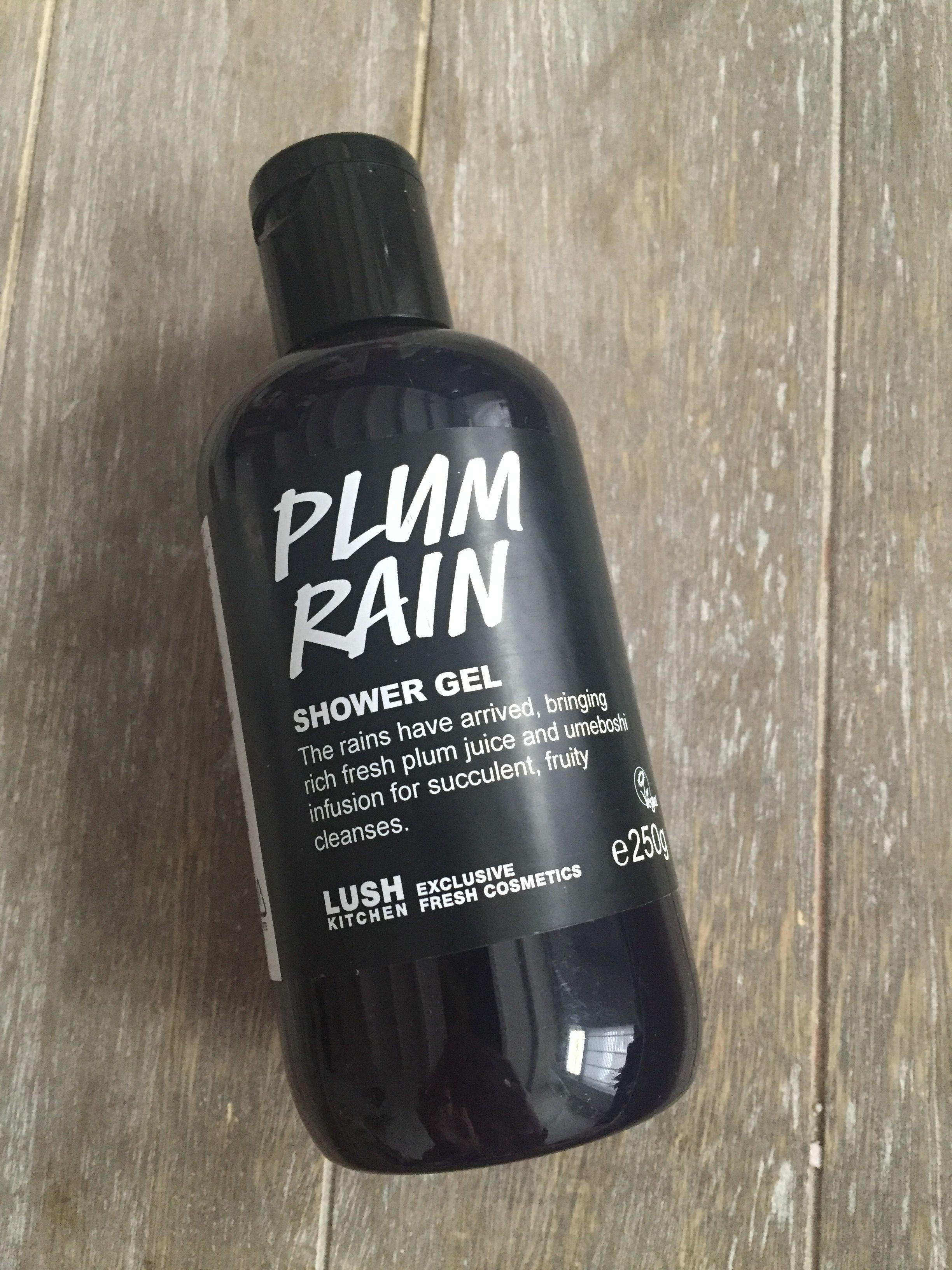 Plum rain shower gel lush kitchen exclusive Oxford street ...