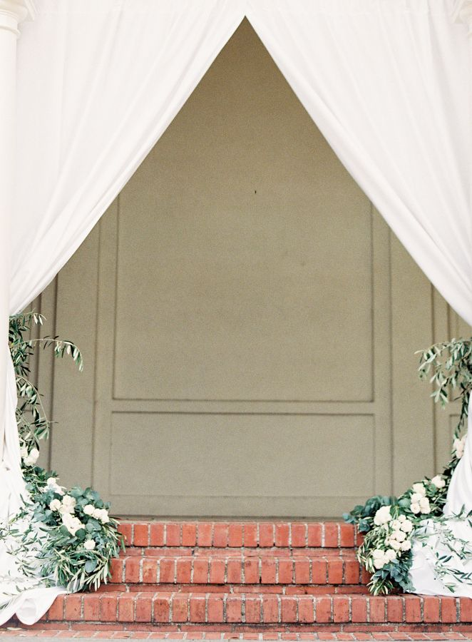 Wedding decoration for Elegant Tuscan inspired wedding