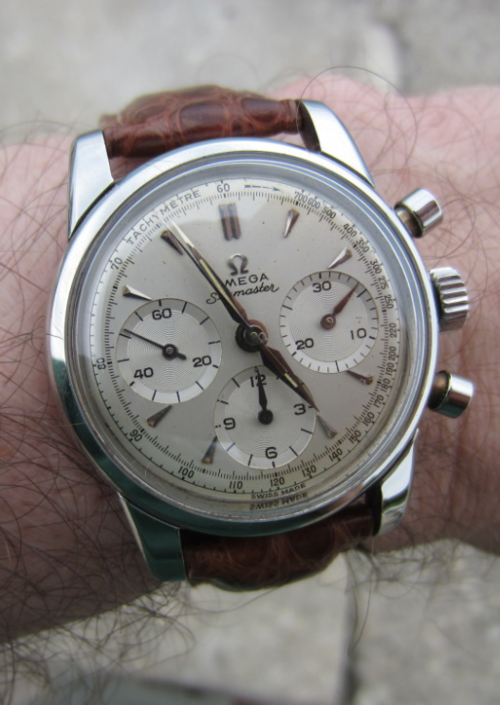 Vintage Omega Seamaster Chronograph In Stainless Steel Circa 1960s