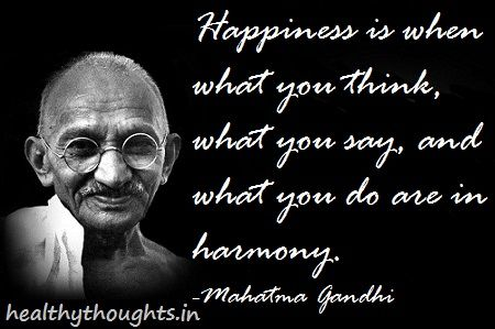 Image result for happiness quotes gandhi