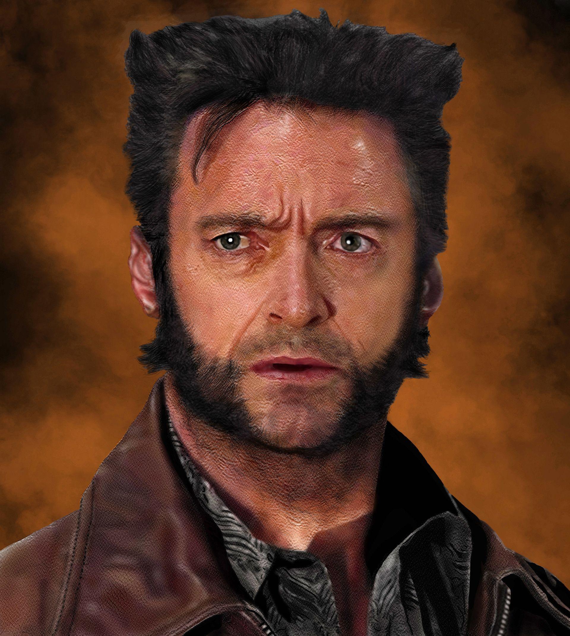 Artstation Wolverine Days Of Future Past Participant Of Cgtrader Awards Dima Nguyen Wolverine Hair Wolverine Hugh Jackman Wolverine