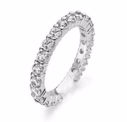 b4cf093685296 Classic Diamond Eternity Ring in Platinum (0.75 ct.tw.)
