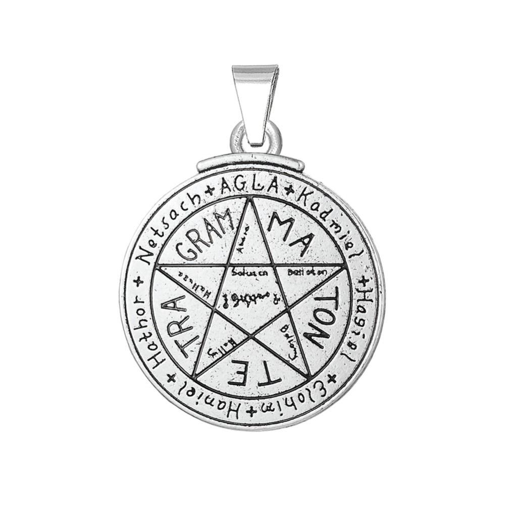 Find more pendants information about talisman for love find more pendants information about talisman for love tetragrammaton key of solomon pentacle charms wholesale pendant aloadofball Images